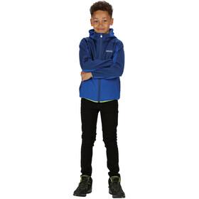 Regatta Bracknell II Soft Shell Jacke Kinder nautical blue/nautical blue